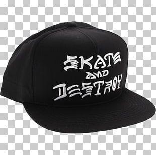 Thrasher Presents Skate And Destroy Skateboarding T-shirt PNG