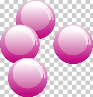 Chewing Gum Bubble Speech Balloon PNG