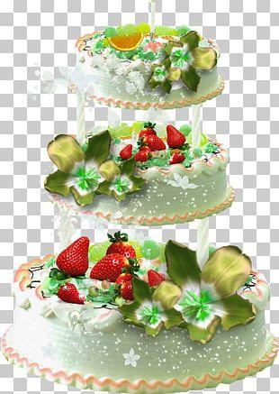 Layer Cake Birthday Cake Fruitcake Torte Sugar Cake PNG