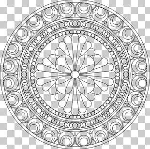Mandala Coloring Book Child Doodle Meditation PNG