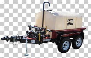 Heavy Machinery Gallon Trailer Water Tank PNG