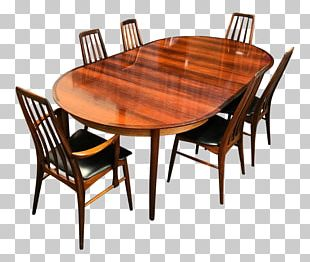 Hornslet Table Dining Room Matbord Chair PNG