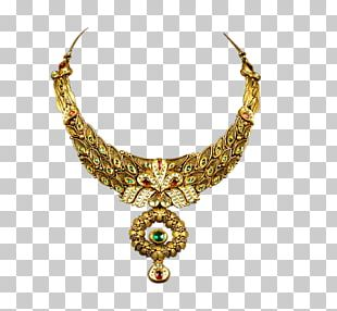 Jewellery Necklace Estate Jewelry Gold PNG