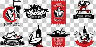 Buffalo Wing Barbecue Logo Hot Chicken Barbacoa PNG