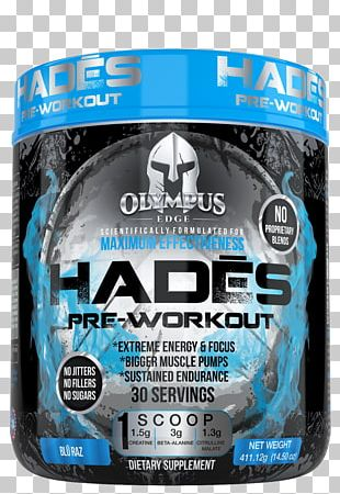 Hades Pre-workout Exercise Bodybuilding Supplement Suspension Training PNG