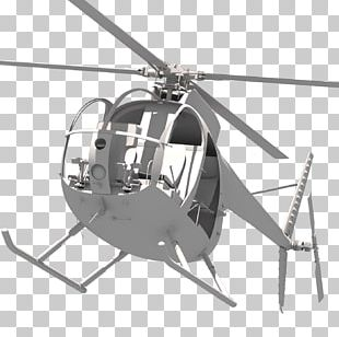 Helicopter Rotor Hughes OH-6 Cayuse Light Observation Helicopter Military Helicopter PNG