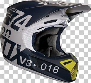 Motorcycle Helmets Fox Racing Motocross PNG
