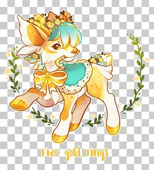 Deer Illustration Horse Mammal PNG