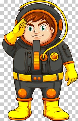 Astronaut Outer Space Drawing PNG