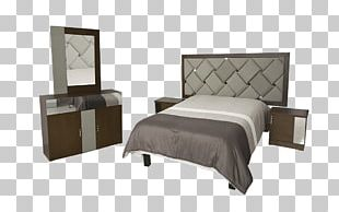 Bed Frame Table Mattress Bedroom Furniture PNG