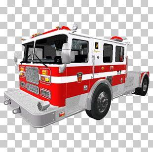 Fire Engine Farming Simulator 17 Car Motor Vehicle PNG