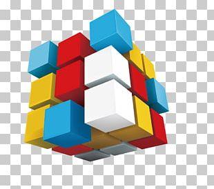 Web Development Cube PNG