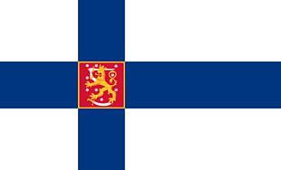 Flag Of Finland Karamanids Finnish Civil War PNG