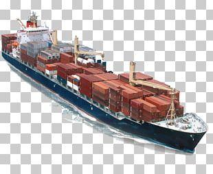 Cargo Ship Freight Transport Cargo Ship Container Ship PNG