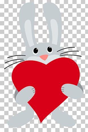 Easter Bunny Netherland Dwarf Rabbit Somebunny Loves You! PNG