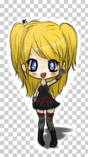 Misa Amane Light Yagami Death Note Chibi Mangaka PNG