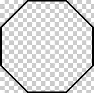 Octagon Regular Polygon PNG