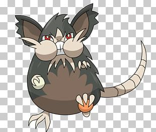Whiskers Pokémon Sun And Moon Raticate Alola Rattata PNG