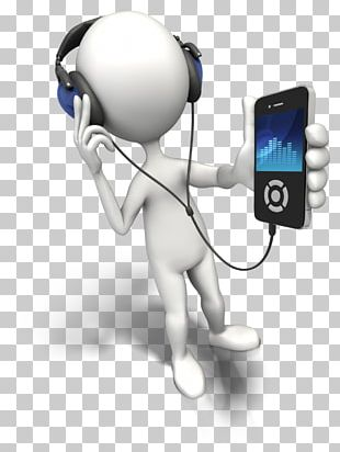 Stick Figure Microphone Animation Music PNG