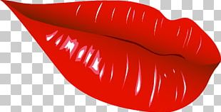 Lip Red Mouth PNG