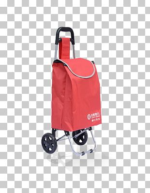 Shopping Cart Plastic Bag Stainless Steel PNG