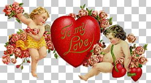 Valentine's Day Love Heart Romance PNG