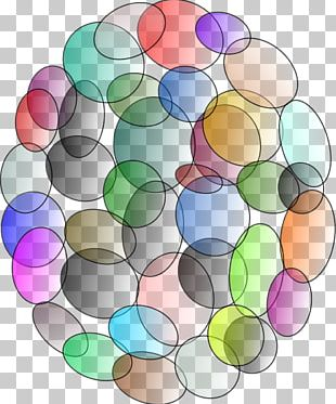 Circle Symmetry Pattern PNG