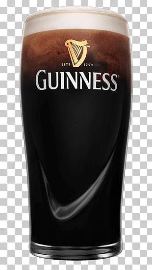Guinness Harp Lager Beer Black And Tan Imperial Pint PNG