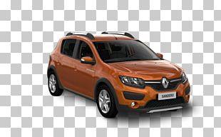 Compact Car Dacia Sandero Compact Sport Utility Vehicle PNG