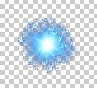 Blue Circle Pattern PNG