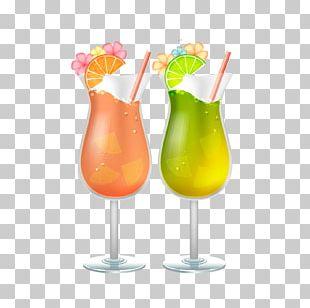 Cocktail Juice Sea Breeze Harvey Wallbanger Soft Drink PNG
