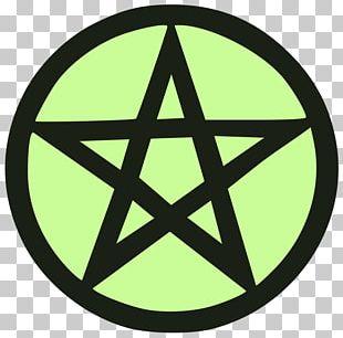 Pentagram Pentacle Symbol Wicca Satanism PNG