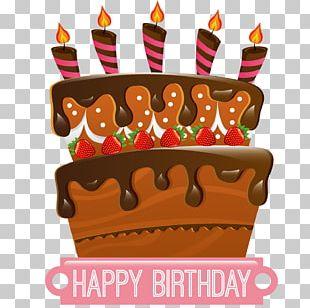 Birthday Cake Ice Cream Cake Chocolate Cake Cupcake PNG