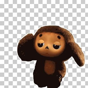 Cheburashka Gena The Crocodile Telegram Sticker PNG