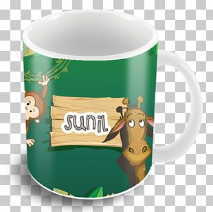 Coffee Cup Jungle Coffee Mug The Typo Store PNG