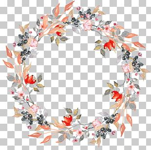 Leaf Wreath Flower Crown PNG