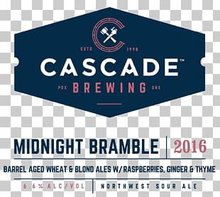 Sour Beer Cascade Brewing Barrel House India Pale Ale PNG