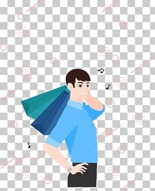 Cartoon Shopping PNG