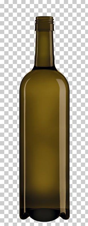 White Wine Glass Bottle Liquor PNG