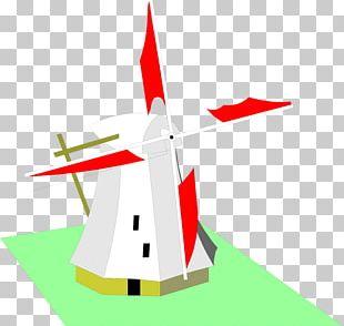 Windmill Wind Turbine PNG
