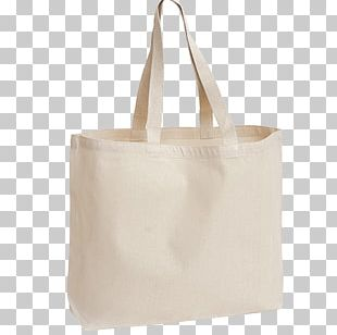 Organic Cotton Tote Bag Canvas PNG