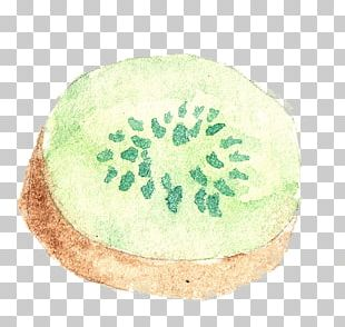 Watercolor Painting Kiwifruit PNG