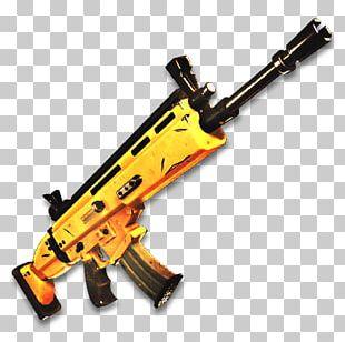 Fortnite Battle Royale FN SCAR Weapon Firearm PNG
