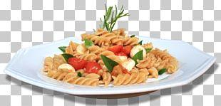 Pasta Salad Pasta Al Pomodoro Rotini Vegetarian Cuisine Fusilli PNG