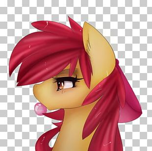 Apple Bloom My Little Pony Cartoon Fan Art PNG