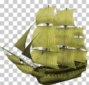 Brigantine Galleon Carrack First-rate Full-rigged Ship PNG