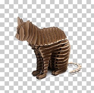 Puzz 3D Jigsaw Puzzles Cat Paper Three-dimensional Space PNG