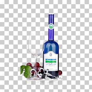 Red Wine Liqueur Grape PNG