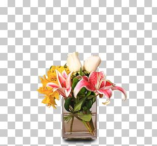 Garden Roses Floral Design Cut Flowers Vase Flower Bouquet PNG