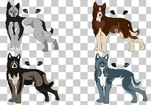 Siberian Husky Dog Breed Cat Puppy Wolfdog PNG